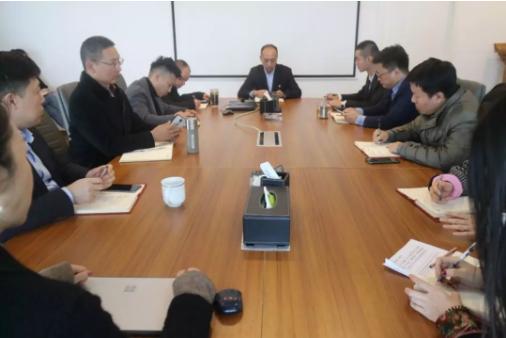 川能物产集团党委副书记饶飞讲廉洁党课并作集体约谈