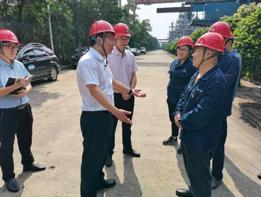 攀枝花市市委常委、副市长王少民一行到煤化新能源公司调研...