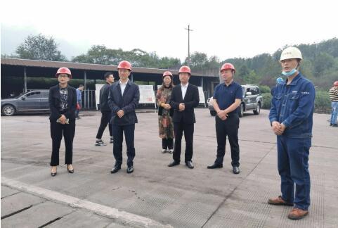 广元市政府副市长伍荣华带队对旺苍焦化开展安全检查