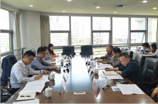 四川能投物产集团与遂宁市政府洽谈物流合作事宜